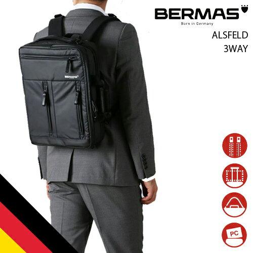 メンズバッグ, ビジネスバッグ・ブリーフケース  BERMAS ALSFELD 3WAY PU 60351 3WAY