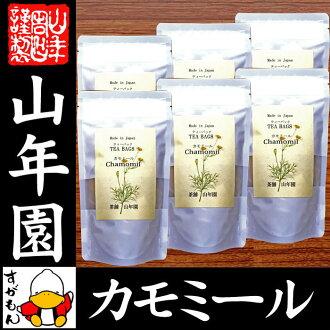 洋甘菊草本茶 2 g x 15 包 x 6 袋無農藥茶茶葉袋不含咖啡因的集的熊本自治州從葉洋甘菊茶保健茶孕婦飲食幼苗禮物禮物禮品茶,到 2015 年在著名的返回 02P20Nov15