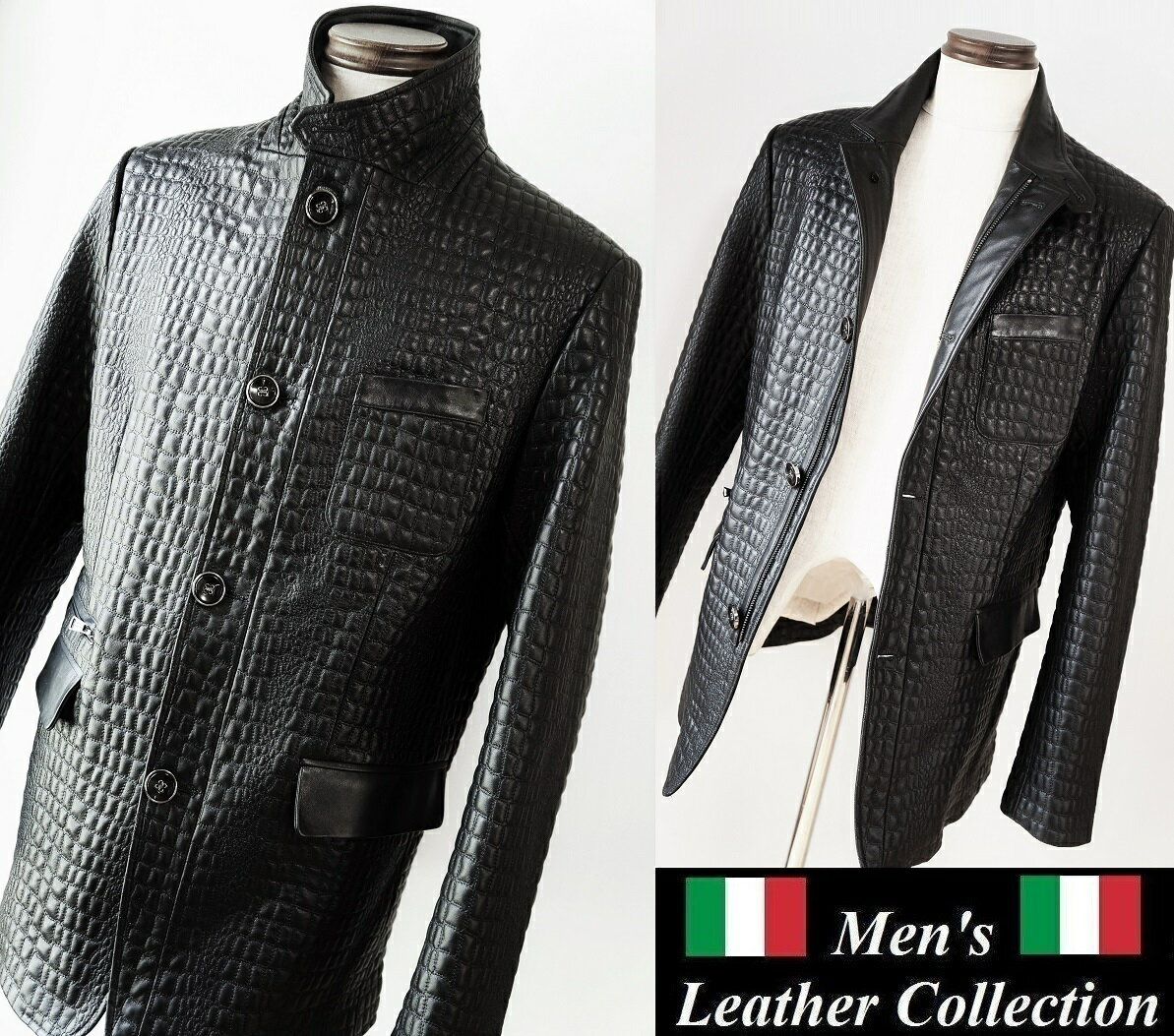 HERMES leather jacket ONOFF ZILLI