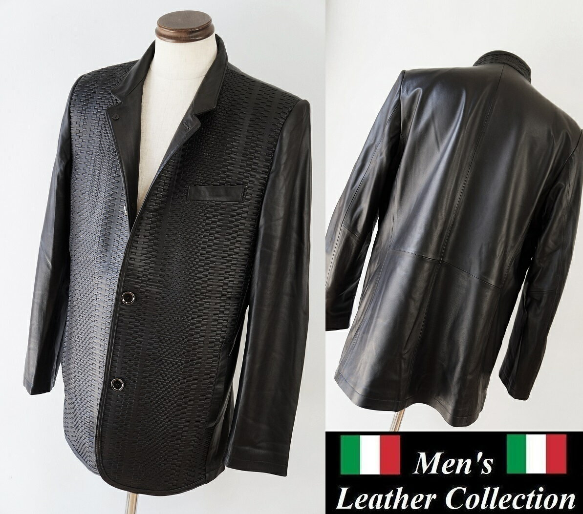 HERMES leather jacket ZILLI