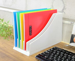 [CREW'S クルーズ]インボイスケース ハッピーデスクA5 事務用品 オフィス 文房具 デスクオーガナイザー ステーショナリー 整理整頓 収納 伝票 納品書 書類 ファイルボックス 卓上 おしゃれ イーオフィス