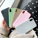 【期間限定保護フィルムプレゼント】iphone11 ケース 韓国 TPU シンプル 無地 マット カップル……