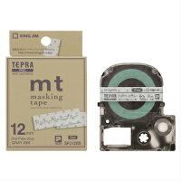 【数量限定】【送料無料】キングジムガーリー「テプラ」SR-GL1アオペールブルーマスキングテープ「mt」ラベル(SPJ12BB)付き特別セットSR-GL1GSB2