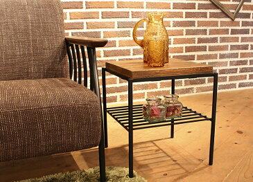 東馬 KeLT ケルト スツール サイドテーブル 木製 無垢 アンティーク調北欧風 収納 tohma 人気