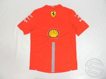 【送料無料】 フェラーリ 2019年 支給品 ノンミッションウィンノウ版 セットアップ用 リフレクター版 速乾性 Tシャツ メンズ S new (海外直輸入 F1 非売品グッズ ナイトラン ランニングウェア)