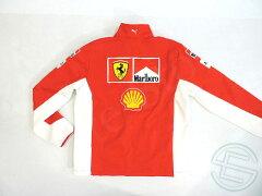 【送料無料】フェラーリ2007年支給品マルボロ版ソフトシェルジャケットジャージメンズL5/5(海外直輸入F1非売品USEDグッズ)