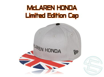 【即納可】 マクラーレン・ホンダ 2017年 イギリスGP限定 NewEra ニューエラ製 9Fifty キャップ new 新品 (海外直輸入 F1 グッズ)