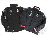 【送料無料】メルセデス・AMG2018年支給品トミーヒルフィガー製中綿入りインナージャケット付2ピースジャケットメンズLnew新品(海外直輸入F1非売品グッズ)