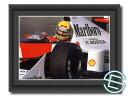 アイルトン・セナ 1989年 マクラーレン・ホンダ F1 A4サイズ 生写真【送料無料】(海外直輸入 F1 グッズ)