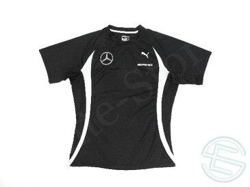 【送料無料】 DTM メルセデス AMG 2015年 支給品 トレーニング用 ポリエステル素材 速乾性 半袖 Tシャツ メンズ L 4/5 (海外直輸入 F1 非売品USEDグッズ ベンツ ランニングウェア)