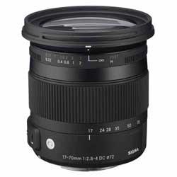 【送料無料】【あす楽】 シグマ 17-70mm F2.8-4 DC MACRO OS HSM キヤノン用 (Canon 交換レンズ)