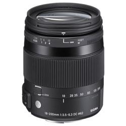 【送料無料】シグマ 18-200mm F3.5-6.3 DC MACRO OS HSM キヤノン用 (Canon 交換レンズ)