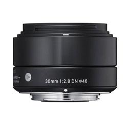 【送料無料】【あす楽】 シグマ 30mm F2.8 DN ソニーEマウント用 ブラック