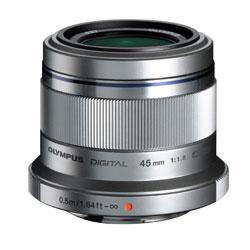 ◎オリンパス M.ZUIKO DIGITAL 45mm F1.8 《発送の目安:1-2週間後》 《デジカメオンライン》