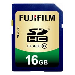 ◎ポイント3倍!フジフイルム SDHC-016G-C6 SDHCメモリーカード 16GB クラス6 《エントリーでポ...