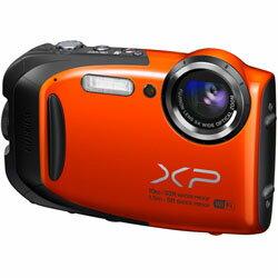 【送料無料】フジフイルム FinePix XP70 オレンジ