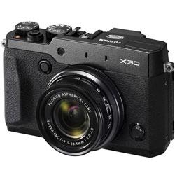 【送料無料】フジフイルム X30 ブラック (コンパクトデジタルカメラ) 《9月20日発売予定》