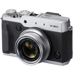 【送料無料】フジフイルム X30 シルバー (コンパクトデジタルカメラ) 《9月20日発売予定》