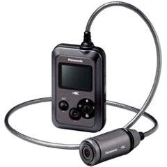 【送料無料】パナソニック 4Kウェアラブルカメラ HX-A500-H グレー