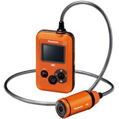 【送料無料】パナソニック 4Kウェアラブルカメラ HX-A500-D オレンジ