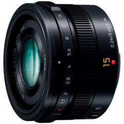 【送料無料】パナソニック LEICA DG SUMMILUX 15mm/F1.7 ASPH. [H-X015] ブラック 《5月15日発...