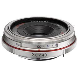 【送料無料】ペンタックス HD PENTAX-DA 40mm F2.8 Limited シルバー 《10月下旬発売予定》