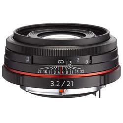 【送料無料】ペンタックス HD PENTAX-DA 21mm F3.2 AL Limited ブラック 《9月20日発売予定》