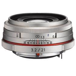 【送料無料】ペンタックス HD PENTAX-DA 21mm F3.2 AL Limited シルバー 《10月下旬発売予定》