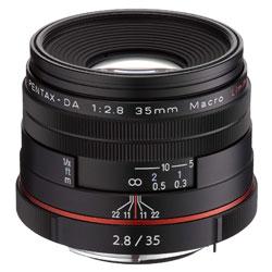 【送料無料】ペンタックス HD PENTAX-DA 35mm F2.8 Macro Limited ブラック 《9月20日発売予定》