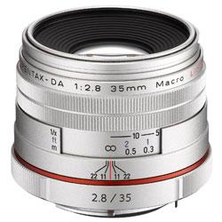【送料無料】ペンタックス HD PENTAX-DA 35mm F2.8 Macro Limited シルバー 《10月下旬発売予定》