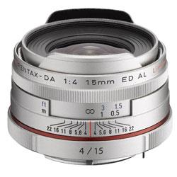 【送料無料】ペンタックス HD PENTAX-DA 15mm F4 ED AL Limited シルバー 《10月下旬発売予定》