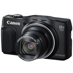【送料無料】【あす楽】 キヤノン PowerShot SX700 HS ブラック (Canon コンパクトデジタルカメラ)