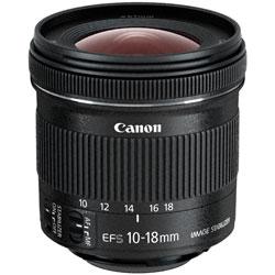 【送料無料】【あす楽】 キヤノン EF-S10-18mm F4.5-5.6 IS STM (Canon 交換レンズ)