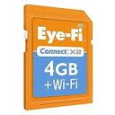 ◎ポイント2倍!Eye-Fi SDHCカード Connect X2 EFJ-CN-4G 4GB 《エントリーでポイント2倍! [7/...