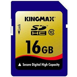 【メール便送料無料】 KINGMAX(キングマックス) SDHCカード 16GB class10 〔KM-SDHC10X16G〕