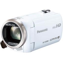【送料無料】【あす楽】 パナソニック デジタルハイビジョンビデオカメラ HC-V550M-W ホワイト ...