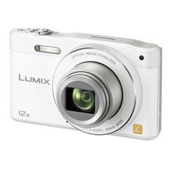 【送料無料】【あす楽】 パナソニック LUMIX DMC-SZ8-W ホワイト (コンパクトデジタルカメラ)