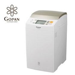 【送料無料】パナソニック 1斤タイプ ライスブレッドクッカーGOPAN SD-RBM1001-W ホワイト
