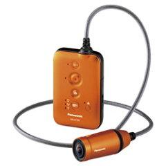 【送料無料】パナソニック ウェアラブルカメラ HX-A100-D オレンジ 《5月1日発売予定》