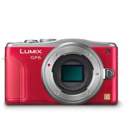 【送料無料】パナソニック LUMIX DMC-GF6-R ボディ レッド 《4月24日発売予定》