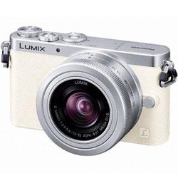 【ショッピングクレジット20回まで分割金利手数料無料】パナソニック LUMIX DMC-GM1K-W レンズ...