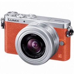 【送料無料】パナソニック LUMIX DMC-GM1K-D レンズキット オレンジ (ミラーレス一眼カメラ)【...