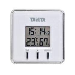 【メール便送料無料】 タニタ デジタル温湿度計 TT550-WH ホワイト