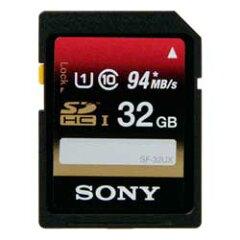 【送料無料】【あす楽】 ソニー SF-32UX SDHC UHS-I メモリーカード 32GB クラス10