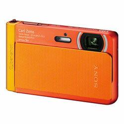 【送料無料】【あす楽】 ソニー Cyber-shot DSC-TX30(D) オレンジ (Sony コンパクトデジタルカ...