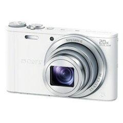 【送料無料】【あす楽】 ソニー Cyber-shot DSC-WX300(W) ホワイト