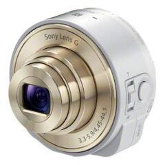【送料無料】ソニー Cyber-shot DSC-QX10 W ホワイト 《発送の目安:約2-3週間》