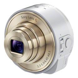 【送料無料】ソニー Cyber-shot DSC-QX10 W ホワイト 《発送の目安:納期未定》