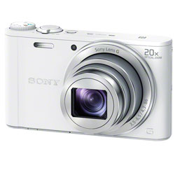 【送料無料】【あす楽】 ソニー Cyber-shot DSC-WX350 W ホワイト (Sony コンパクトデジタルカ...