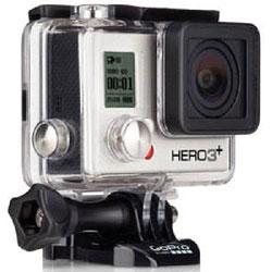 【送料無料】GoPro HERO3+ Silver Edition CHDHN-302-JP (ビデオカメラ) 《発送の目安:未定》